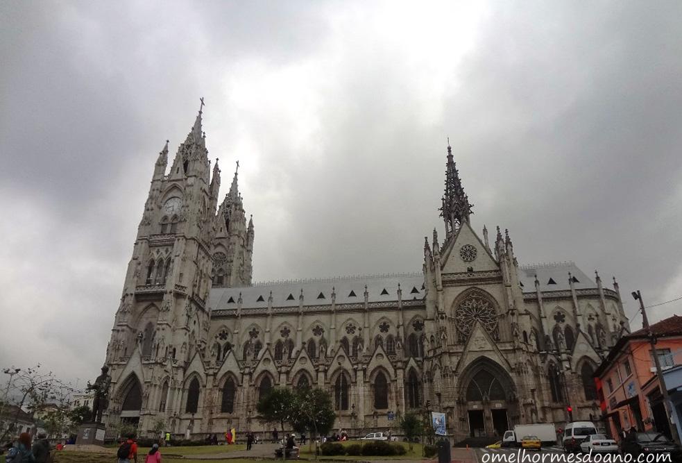 O que fazer em Quito - Basílica del Voto Nacional