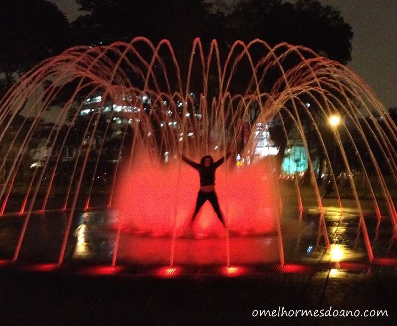 Parque la Reserva: O parque das fontes em Lima