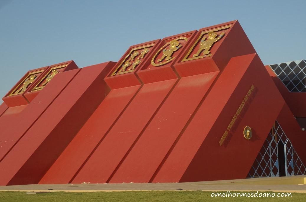 [Blogagem Coletiva – #MuseumWeek] Museu Tumbas Reales de Sipan