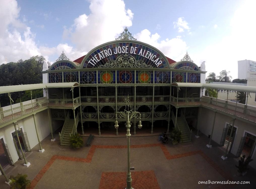 Fortaleza sem praia: roteiro pelo centro em um dia