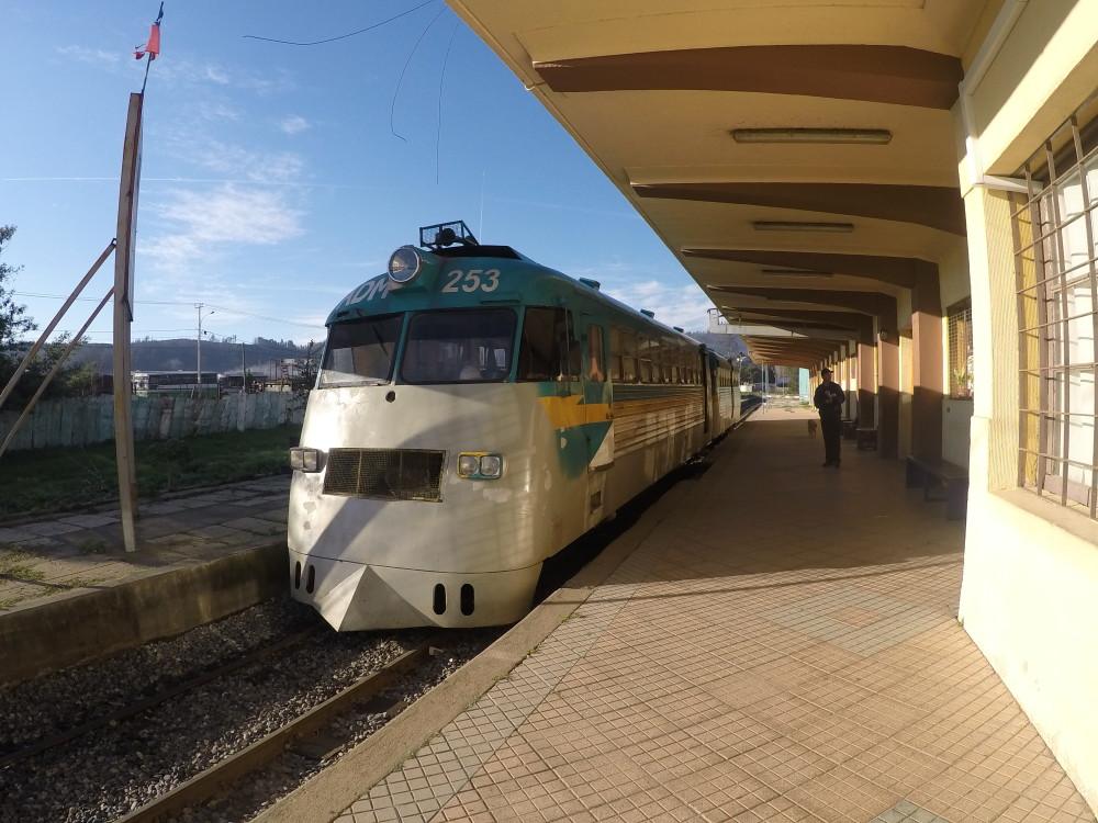Viajando de trem pelo Chile: o último Ramal