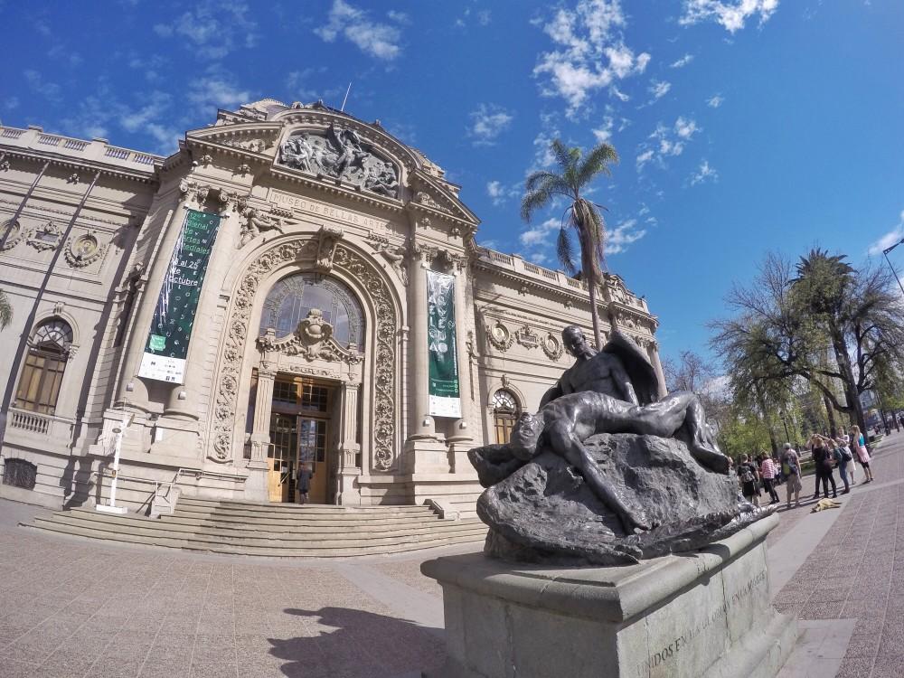 Lugares lindos no Chile - Santiago