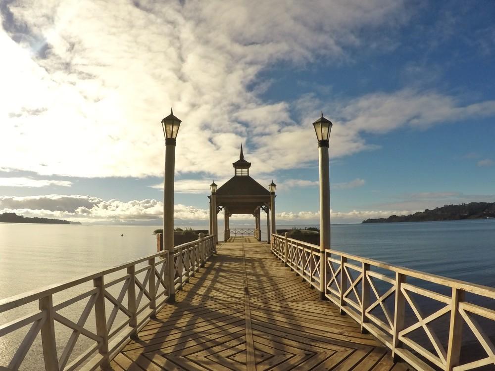 Lugares lindos no Chile - Frutillar
