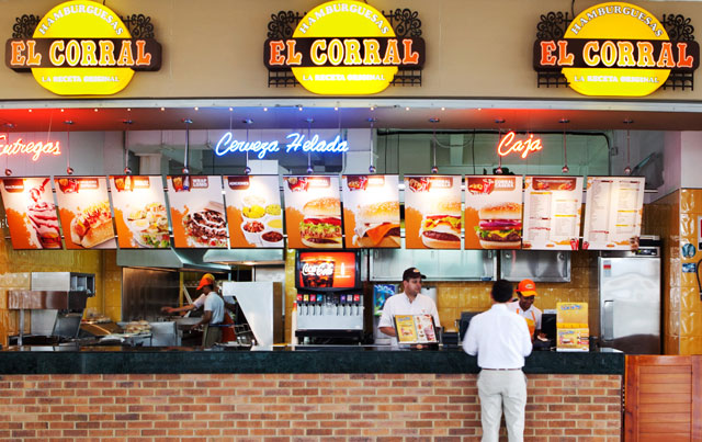 Coisas que você tem que comer na Colômbia - El Corral