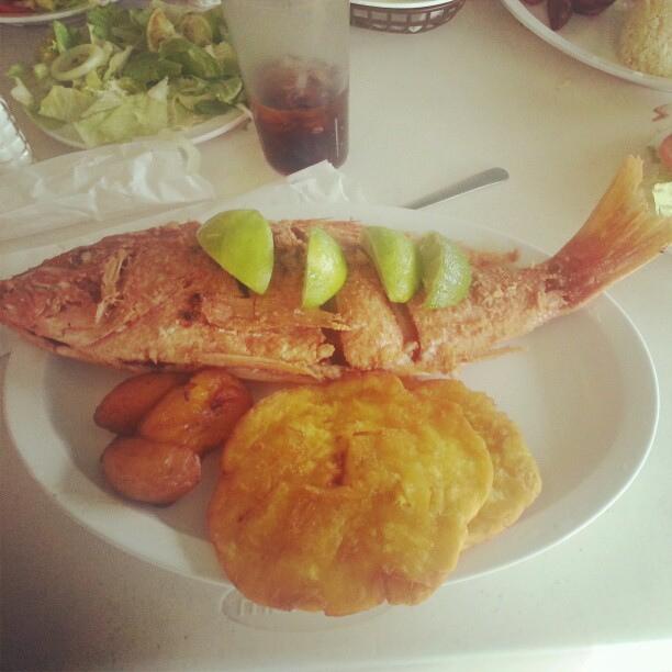 Coisas que você tem que comer na Colômbia - Patacón