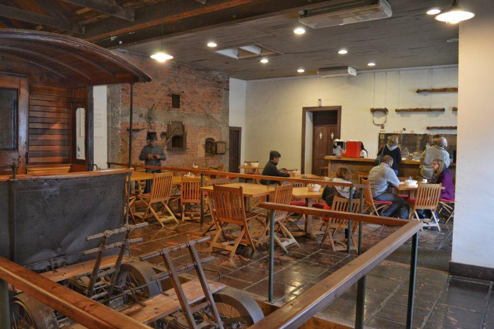 O Café da Vinícola Santa Rita já pra começar bem a visita