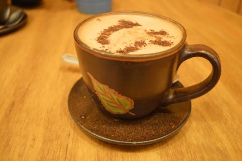 Chocolate quente delícia que tá na lista dos melhores da cidade :)