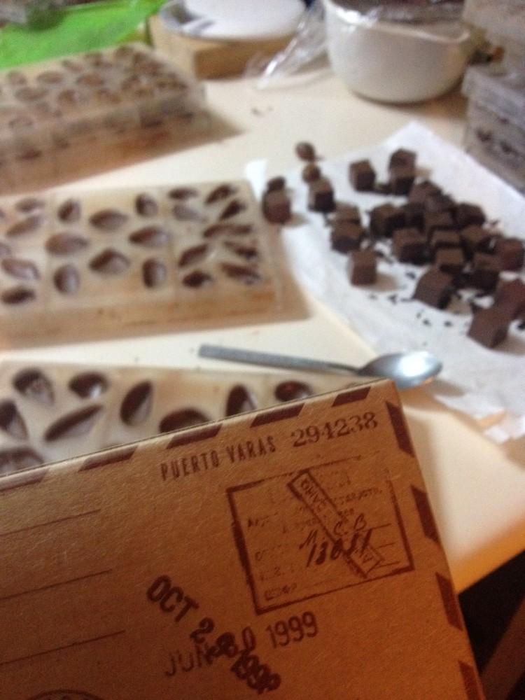 Enviando chocolates para o mundo