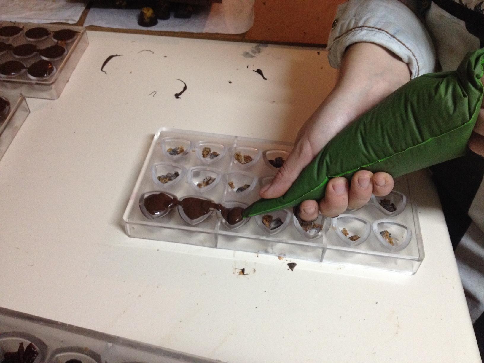 O depois: fazendo bombons de figo
