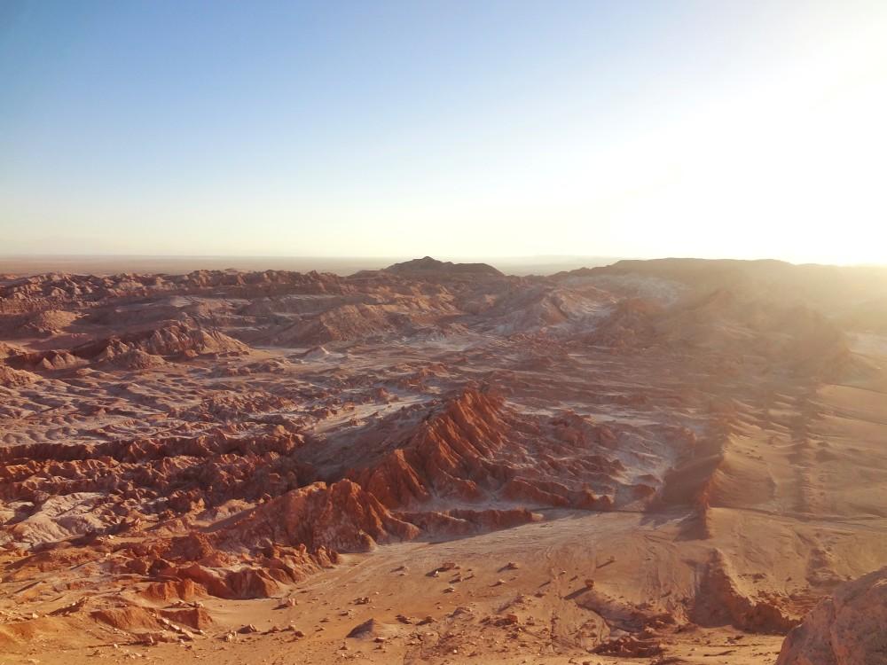E até o 'pior' dos melhores passeios no Atacama é excepcional! Olha esse lugar =O