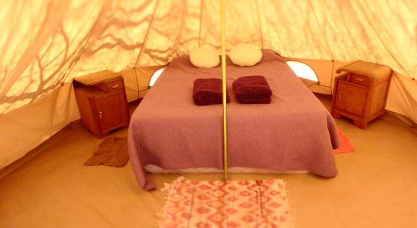 Dormir numa tenda - hostel no Atacama? Dá também...