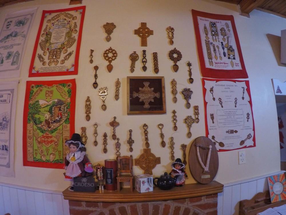 A tradição galesa das colheres talhadas! Lindas!