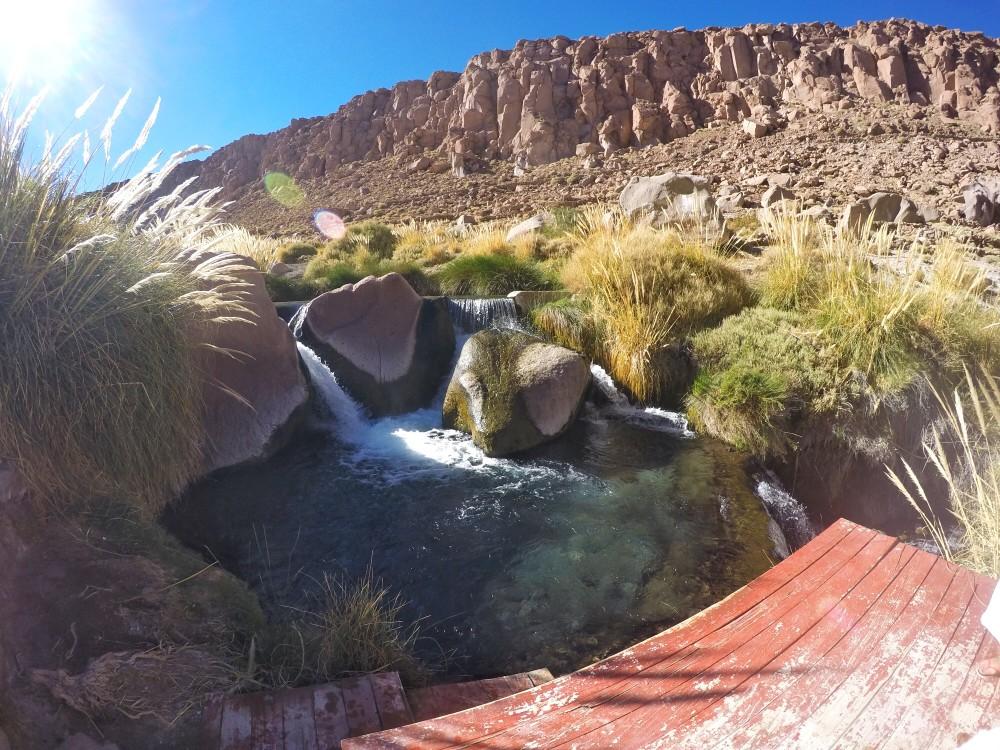 Termas de Puritama: relax no Atacama