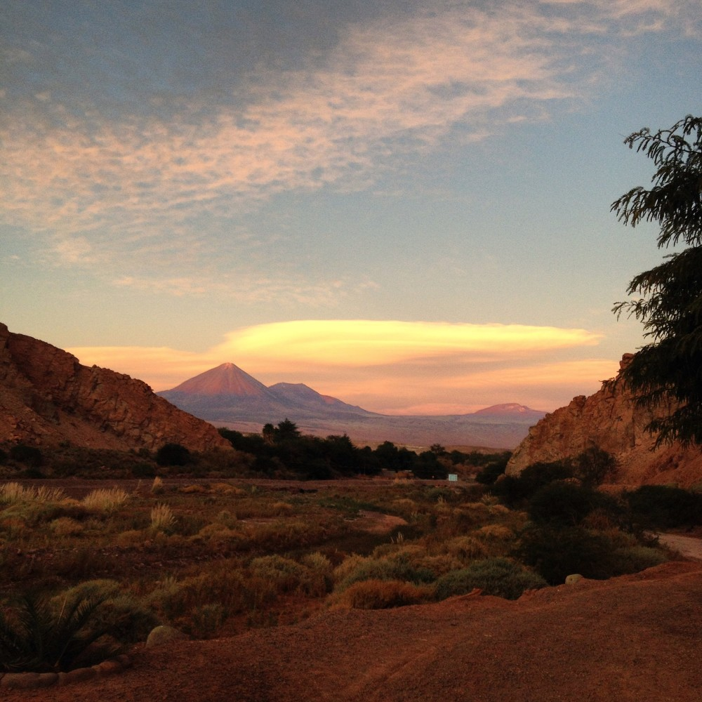 O fim de tarde no Atacama é de brilhar os olhos sempre!