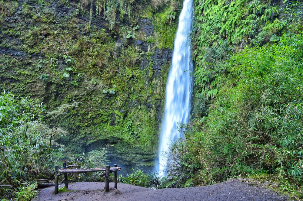Sentar nesse banco e pensar na vida, com esse barulho de cachoeira que acalma até uma doida que nem eu...
