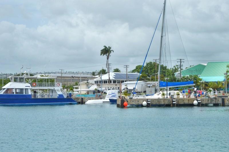 Submarino em Barbados
