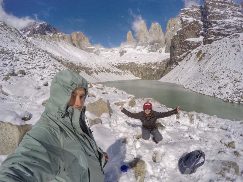 Uma paisagem inesquecível - e com essa neve, não é em todo lugar que você vai ver uma foto assim!