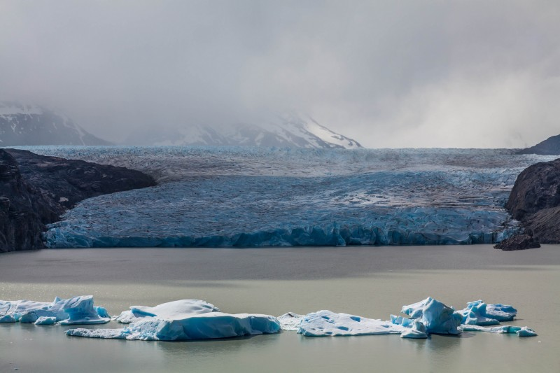 Glaciar Grey por Maciej