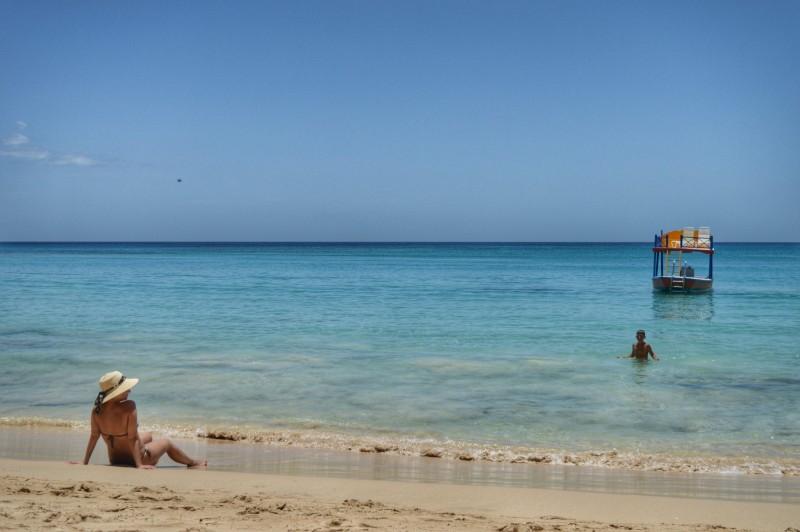 Aqueeeeeela praia com cara de Caribe <3