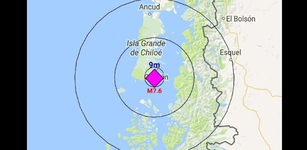 Meu primeiro terremoto no Chile
