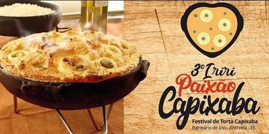 A torta capixaba é um dos pratos mais tradicionais do Espírito Santo. É feita com peixe salgado (pode ser bacalhau), frutos do mar, cebola... é uma delícia!